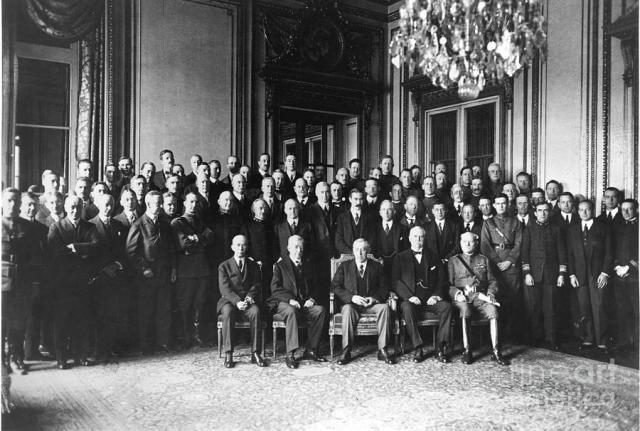 paris peace conference