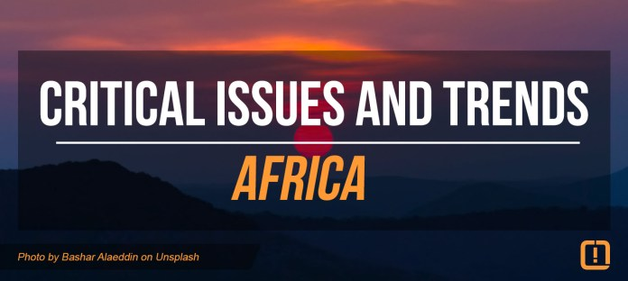 Critical issues and trends africa