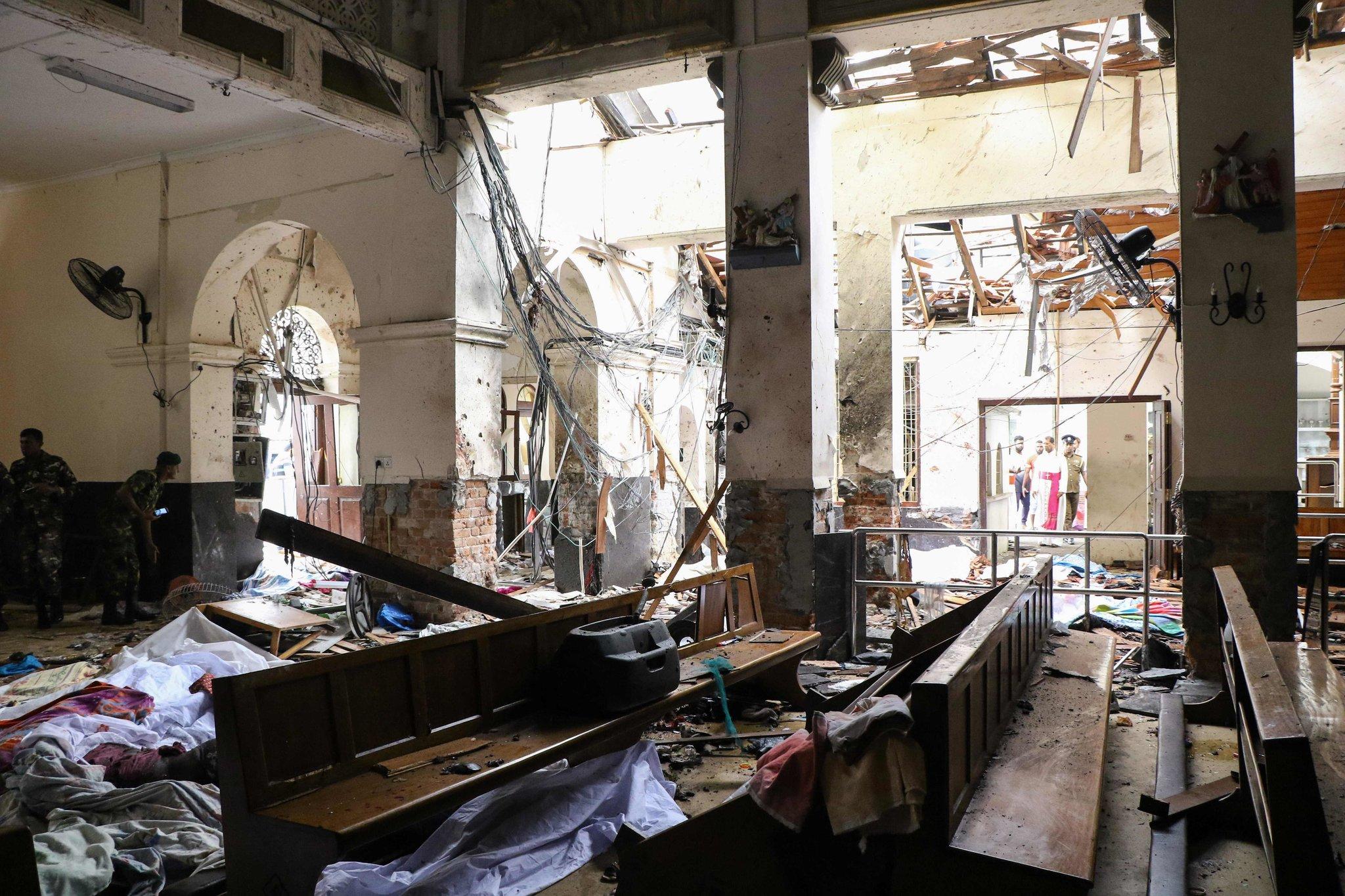 Easter Sunday Terrorist Attacks in Sri Lanka