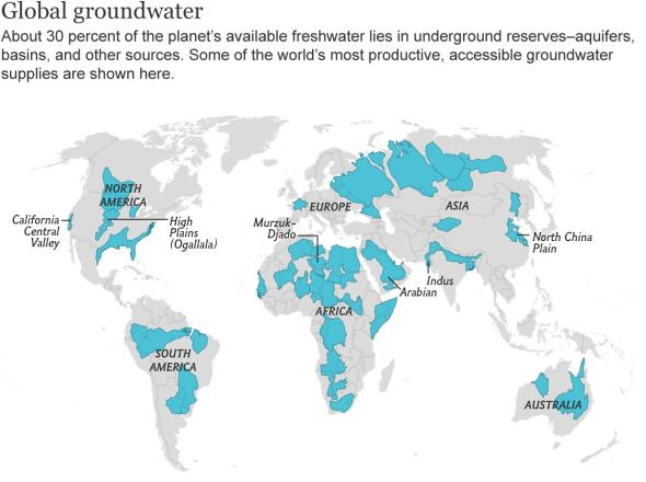 water crisis aquifers