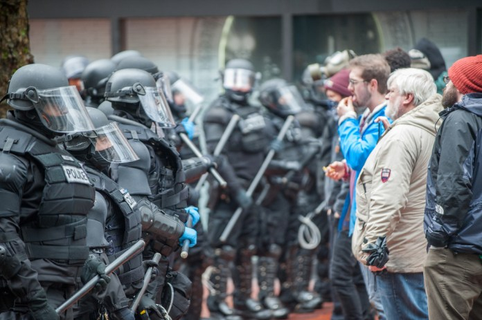 Federal Forces in Portland