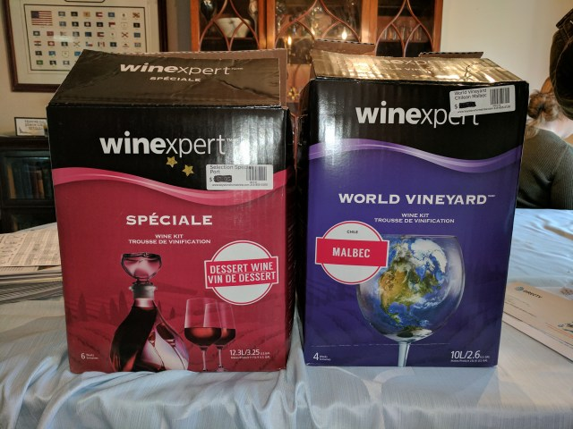Two Wine Kits