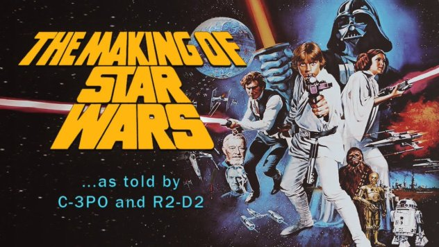 The Making of Star Wars poster