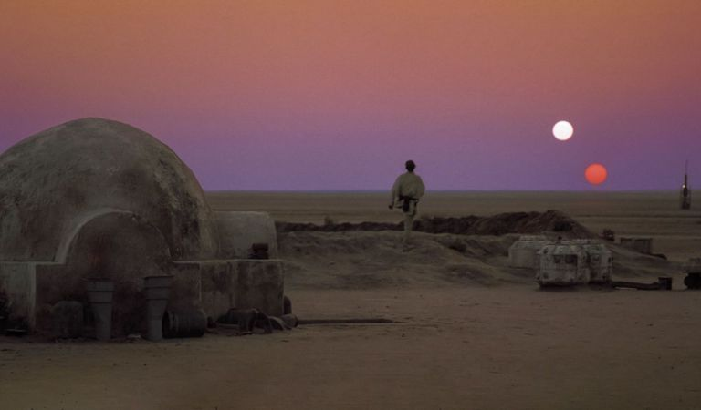 In case you were wondering, Tattoine in the #StarWars saga was likely a coplanar circumbinary planet.