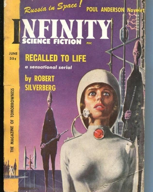 Infinity magazine cover