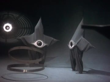 Starfish aliens from 1956 Japanese scifi movie, Warning from Space