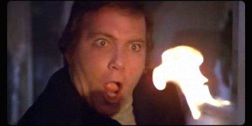 William Shatner in The Horror on 37,000 Feet