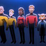 Star Trek Lower Decks crew