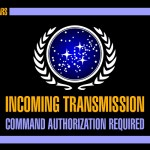 Star Trek Starfleet incoming transmission