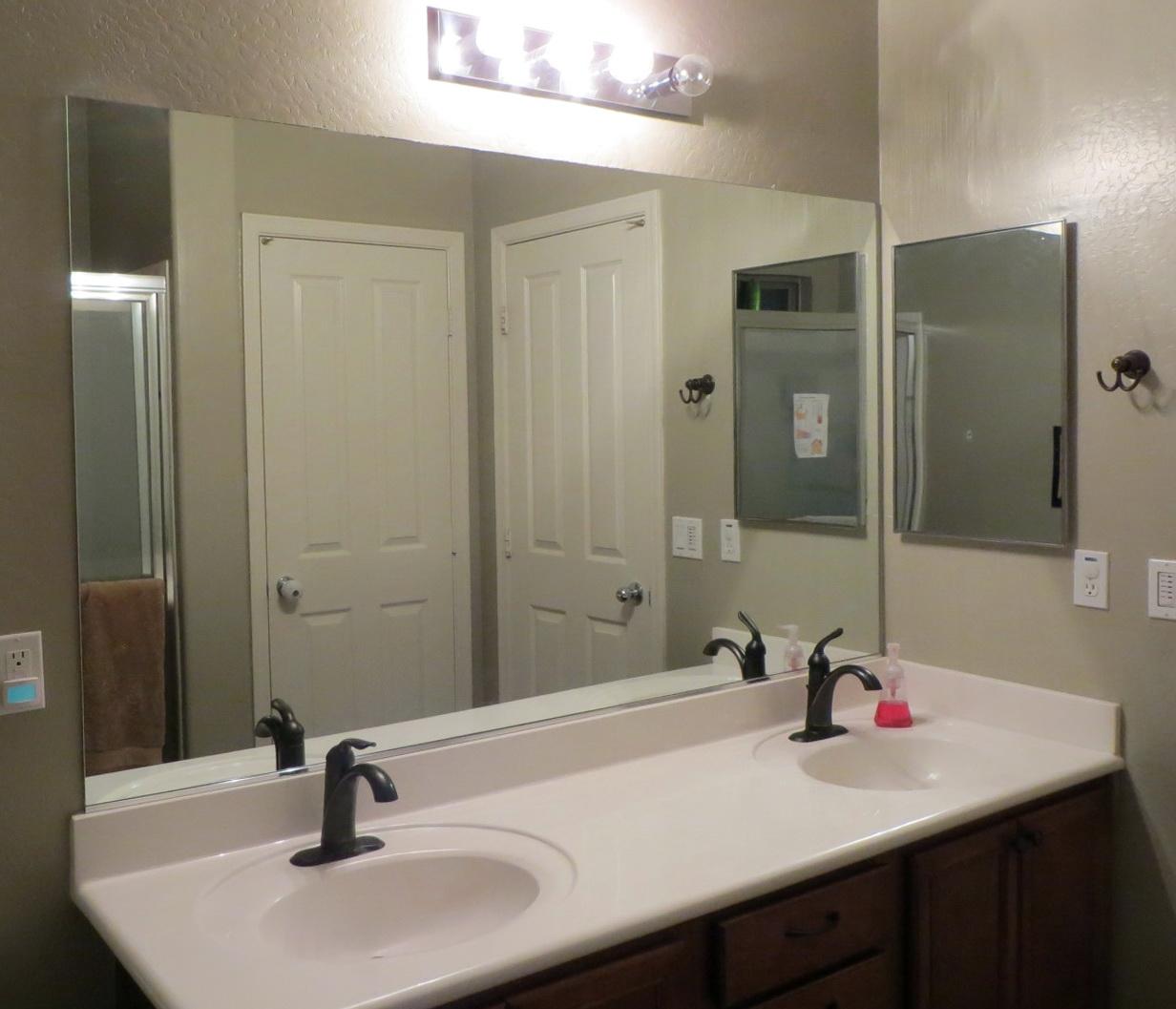 Bathroom Mirror Frames Do It Yourself Home Design Ideas