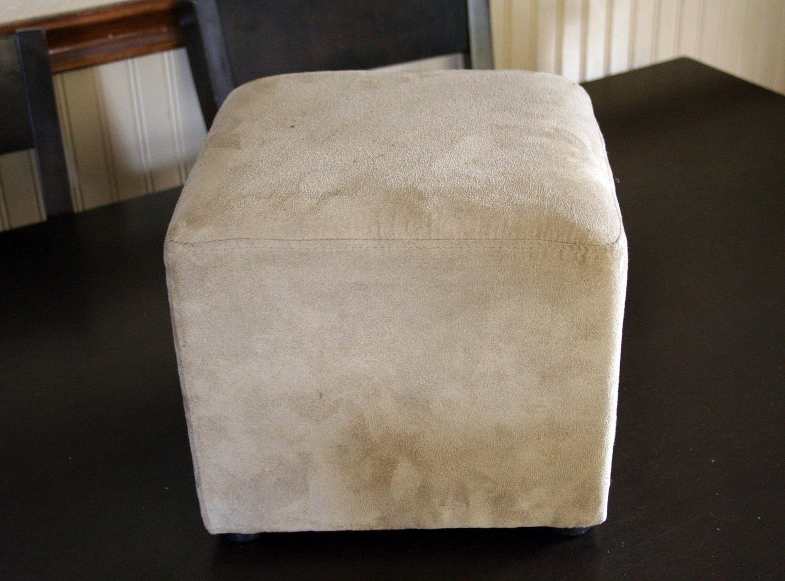 Large Square Ottoman Slipcover Home Design Ideas