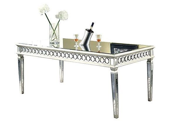 Sophie Mirrored Dining Table Home Design Ideas