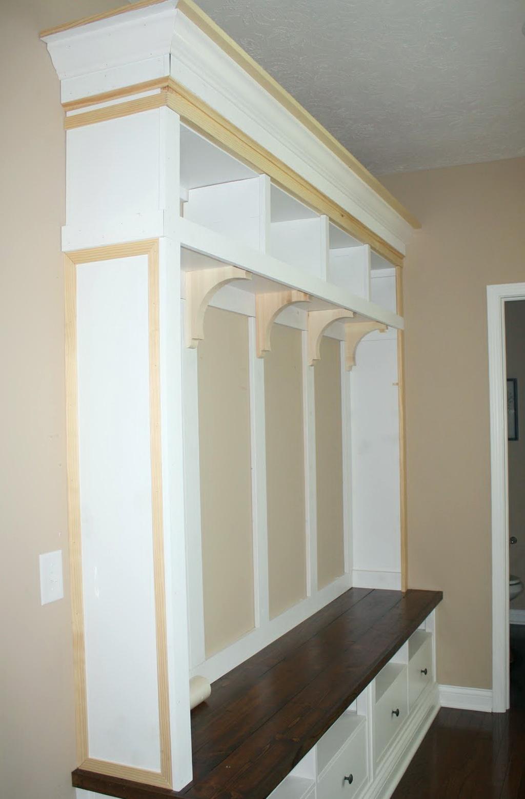 Diy Mudroom Storage Bench Home Design Ideas