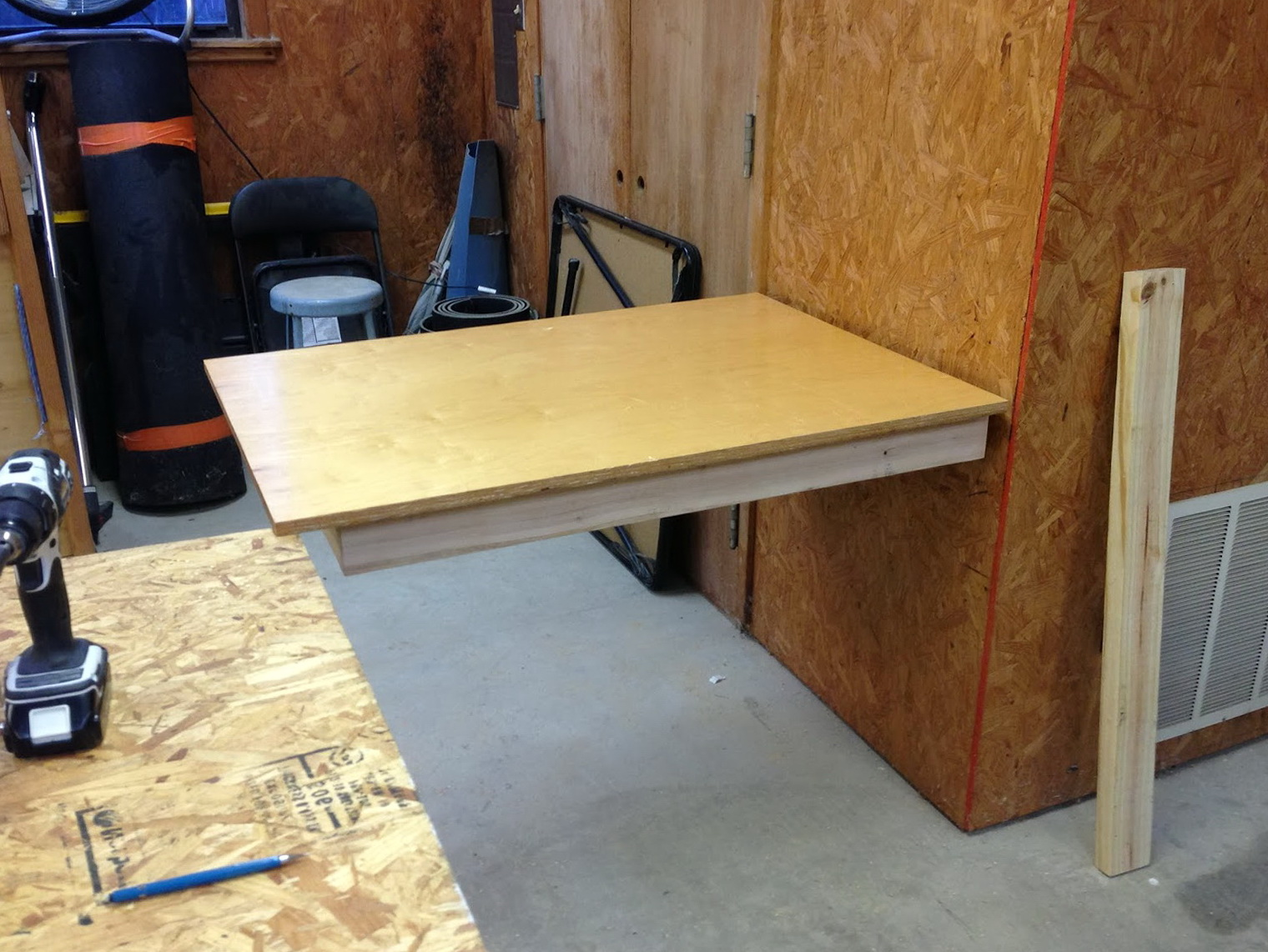 Folding Workbench Diy Home Design Ideas
