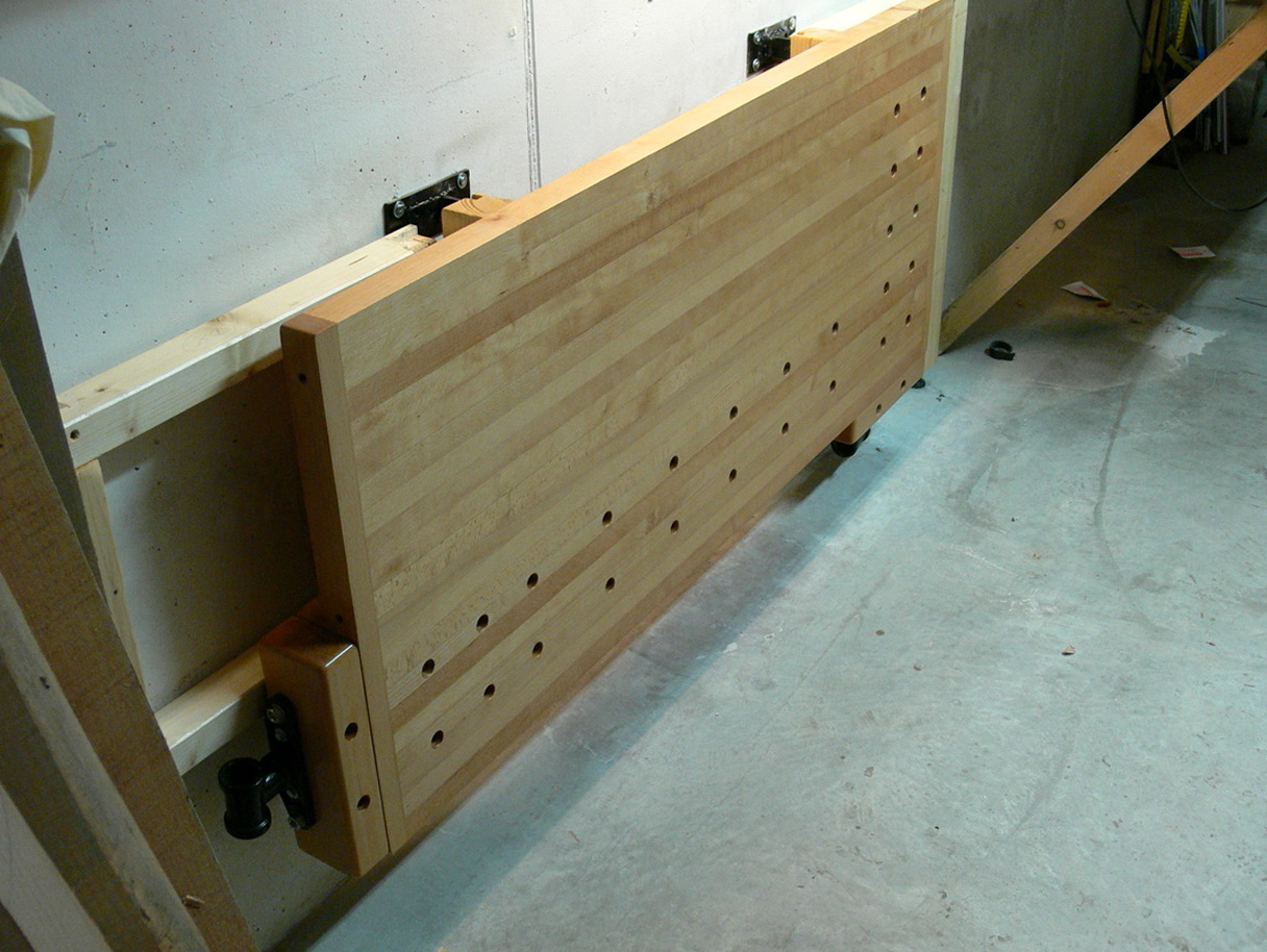 Folding Workbench Wall Mounted Home Design Ideas