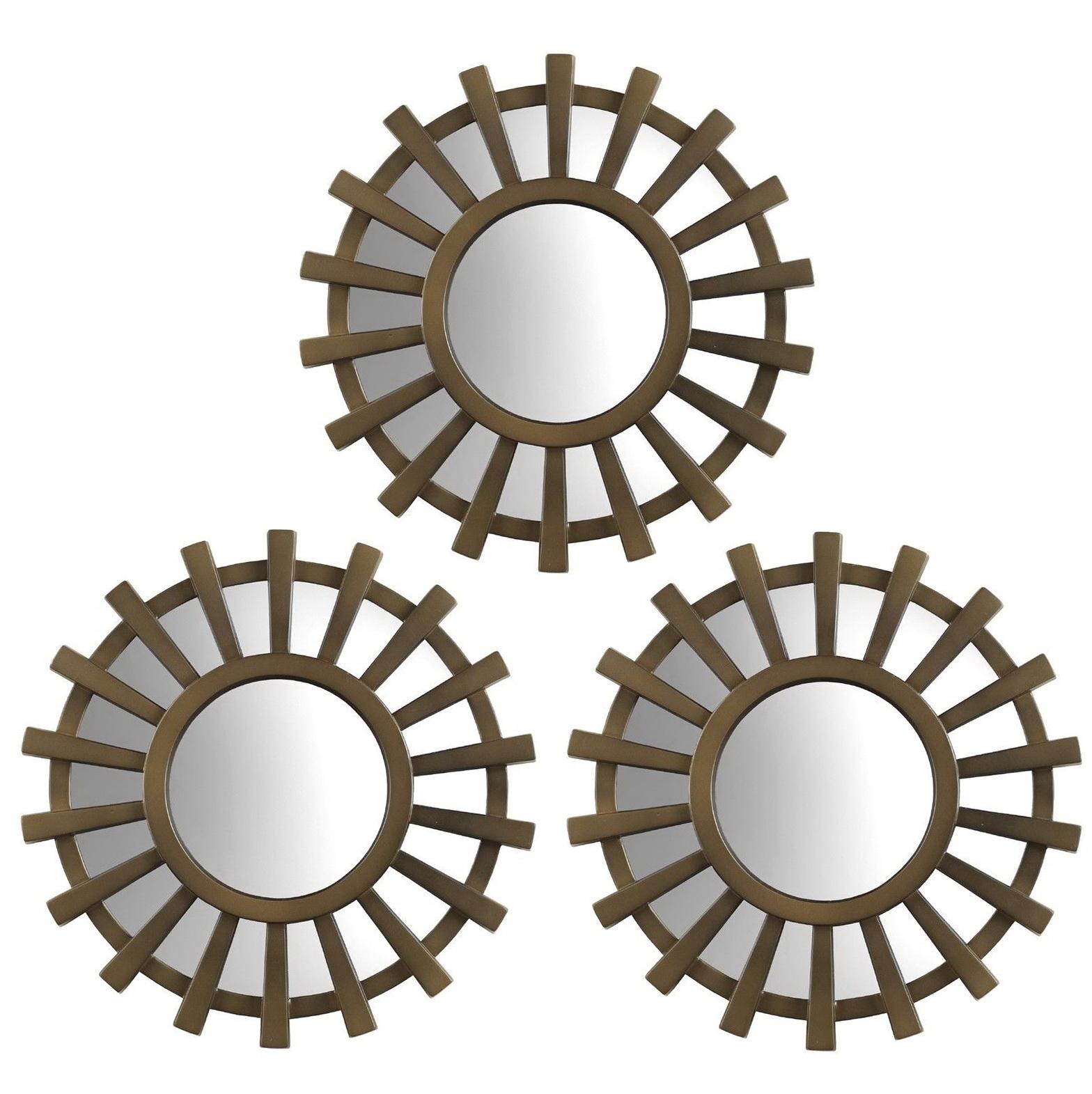 Small Decorative Mirrors Set Of 3 Home Design Ideas