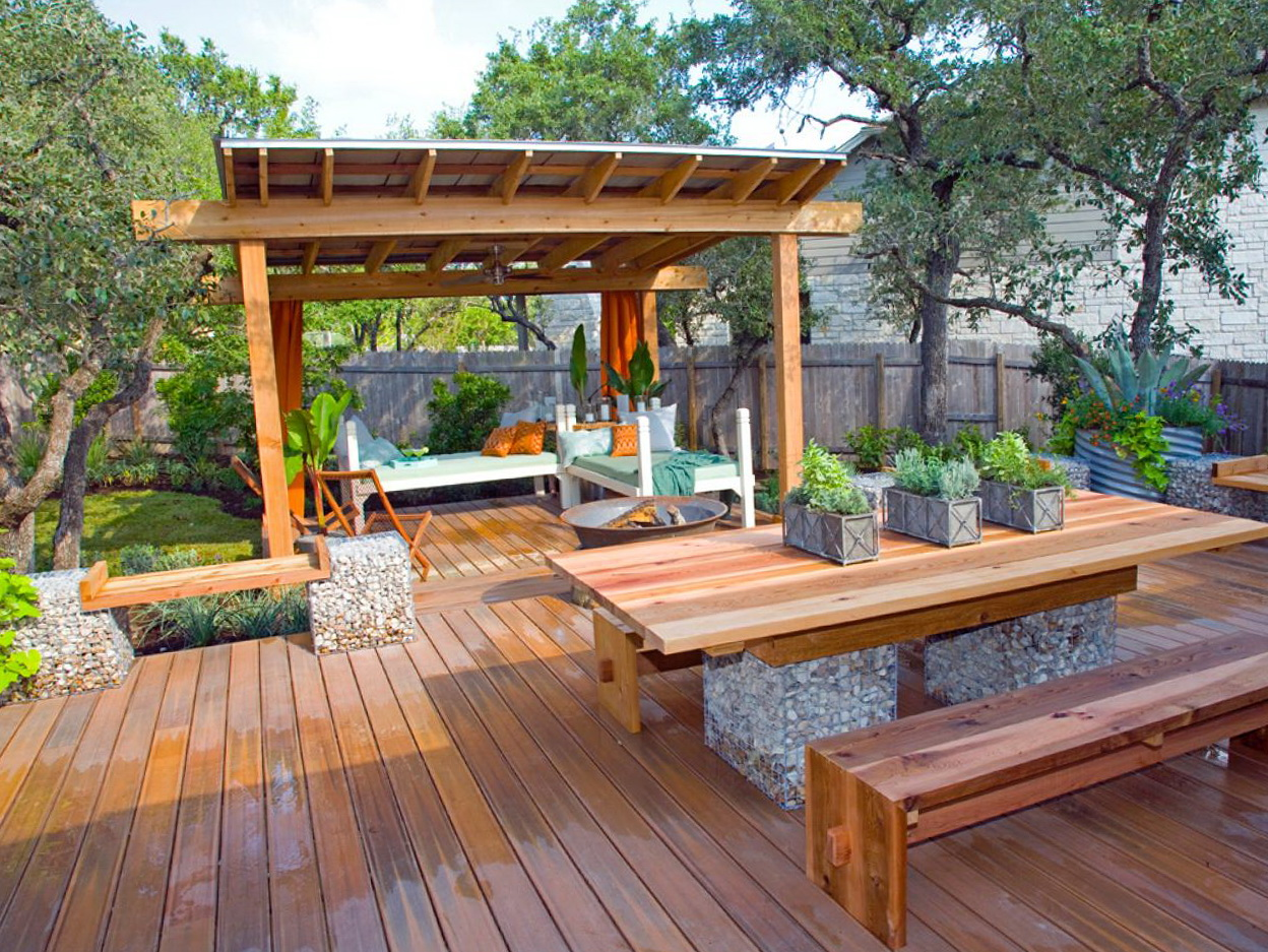Backyard Covered Deck Ideas | Home Design Ideas on Covered Back Deck Designs id=21477