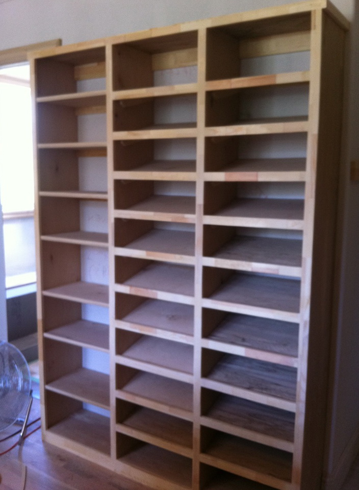 Custom Shoe Racks For Closet Home Design Ideas