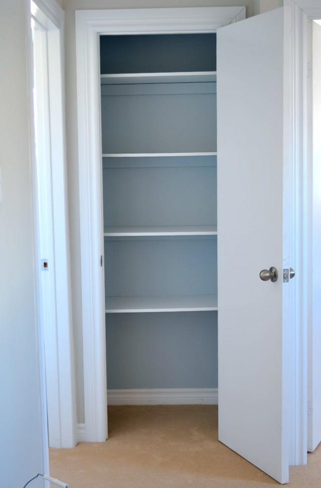 Linen Closet Shelving Depth Home Design Ideas