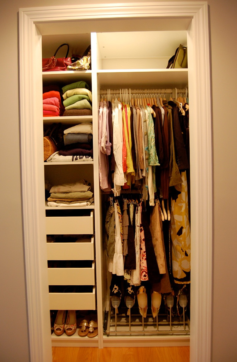 Small Closet Organization Ikea Home Design Ideas