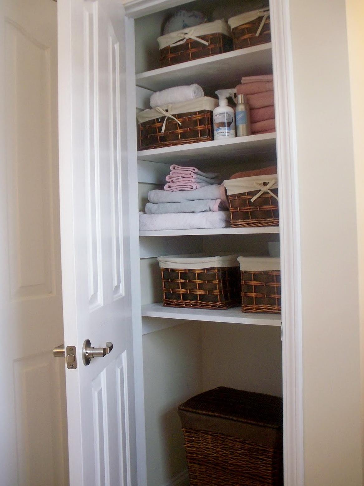 Deep Linen Closet Ideas Home Design Ideas