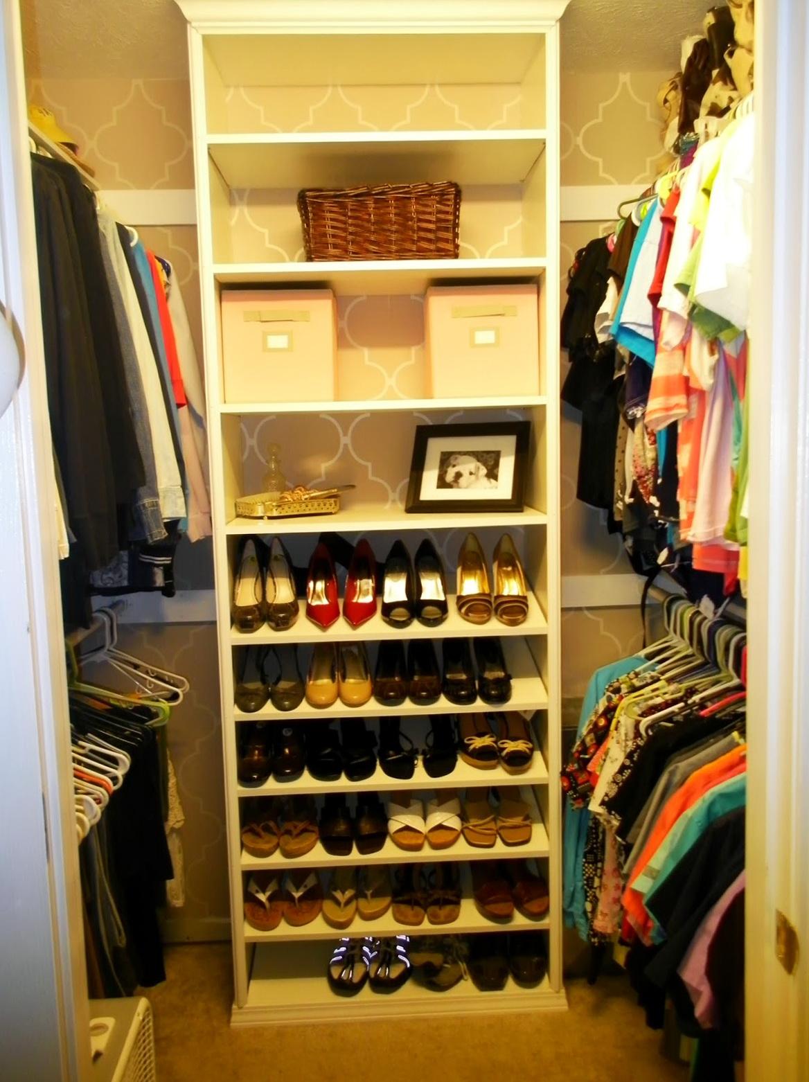 Diy Closet Shoe Storage Home Design Ideas