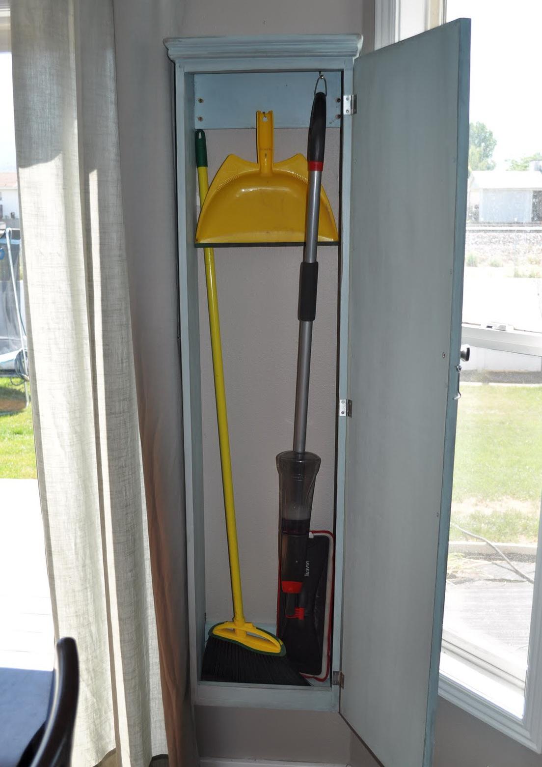 Broom Closet Cabinet Home Depot Home Design Ideas