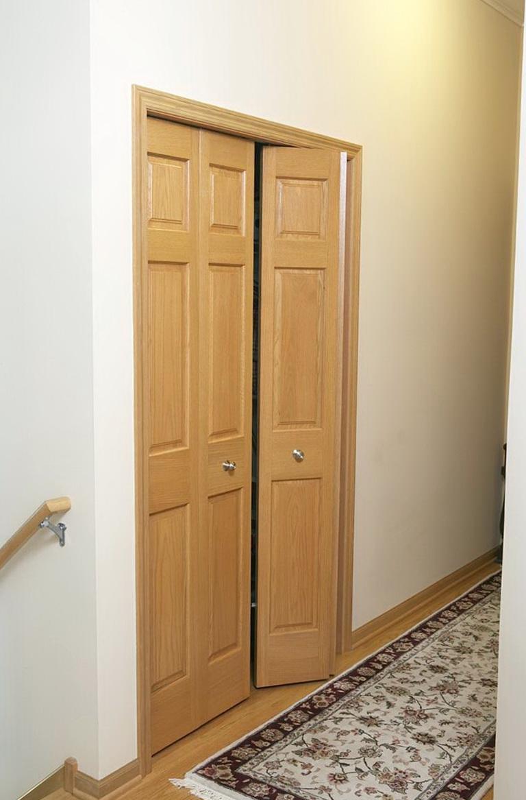 Custom Bifold Closet Doors Height Home Design Ideas