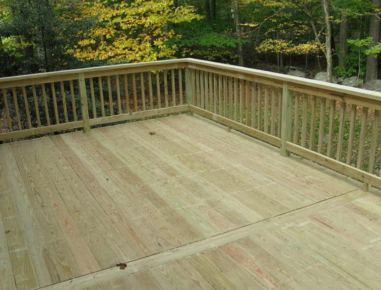 Pressure Treated Deck Railing Systems Home Design Ideas