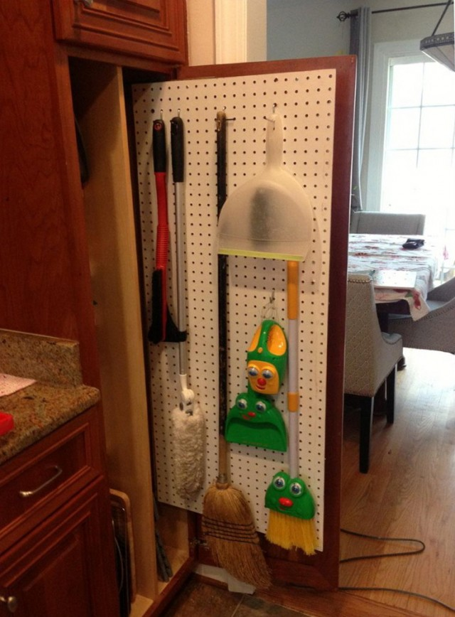 Broom Closet Cabinet Lowes Home Design Ideas