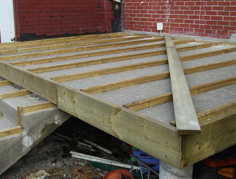 Installing Composite Decking On Concrete Home Design Ideas