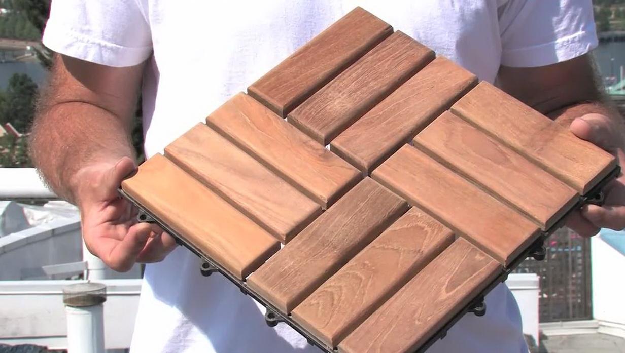 Wooden Deck Tiles Ikea Home Design Ideas