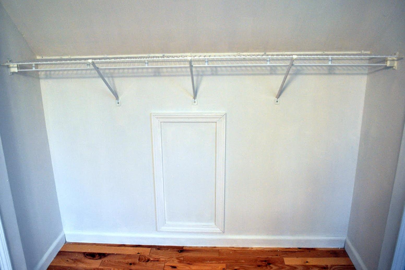 Diy Closet Rod Dividers Home Design Ideas