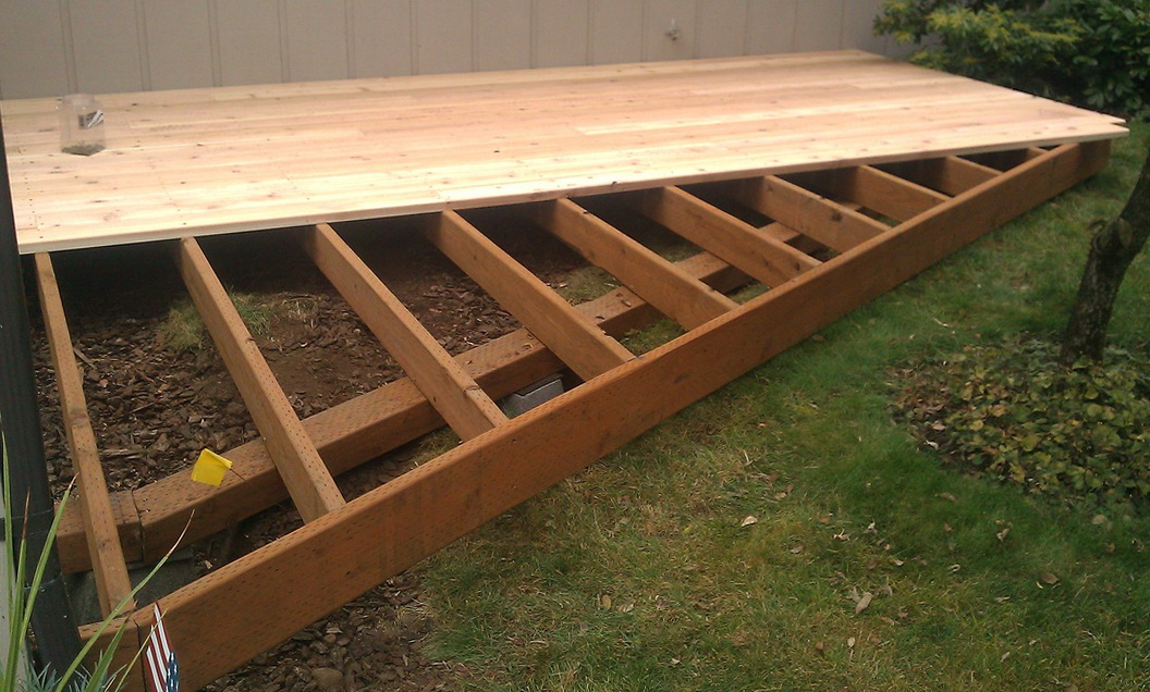 Deck Footing Options