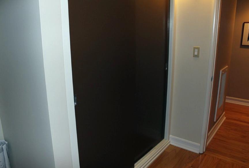 Sliding Wardrobe Louver Door