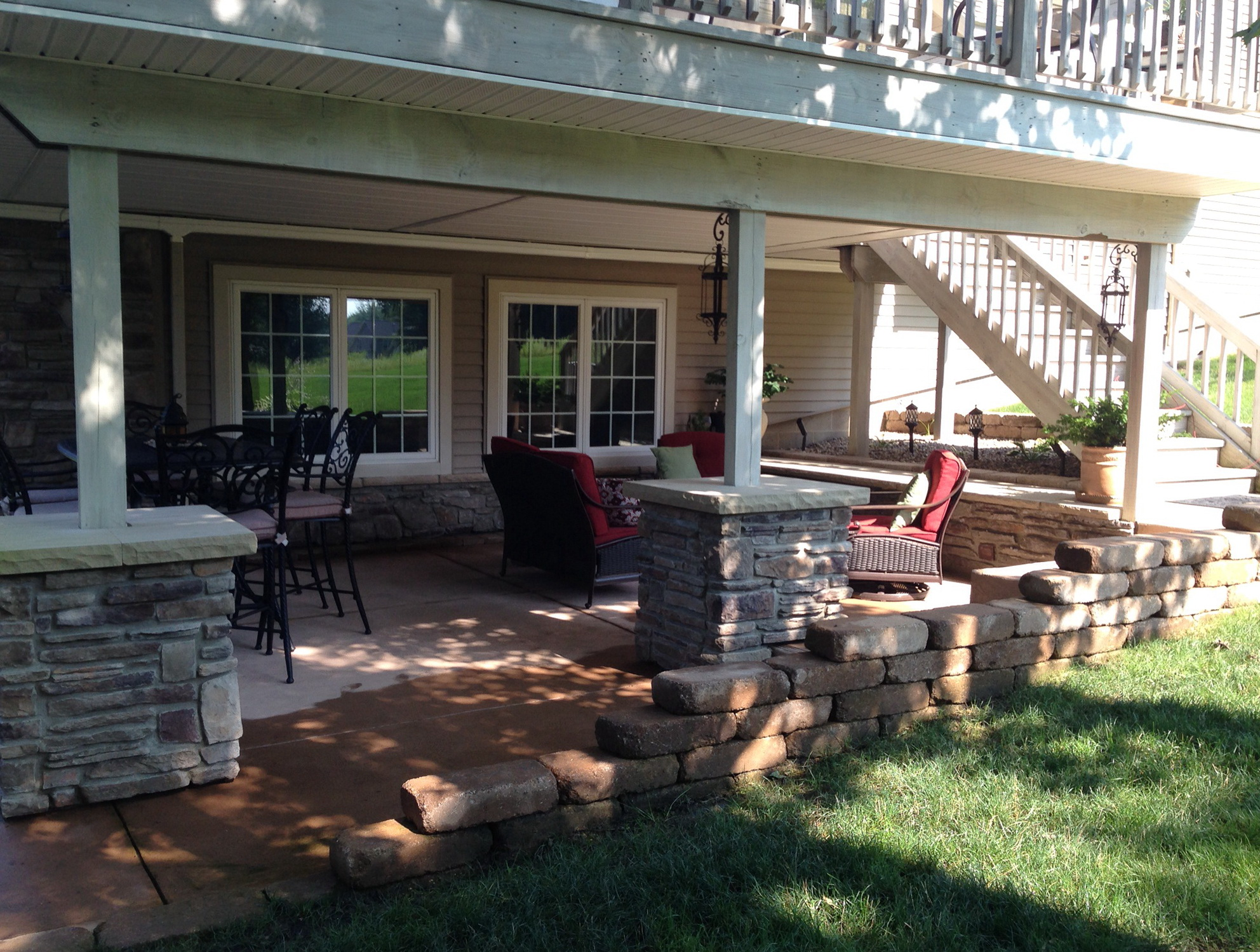 Patio Under Deck Design Ideas | Home Design Ideas on Patio With Deck Ideas id=71045