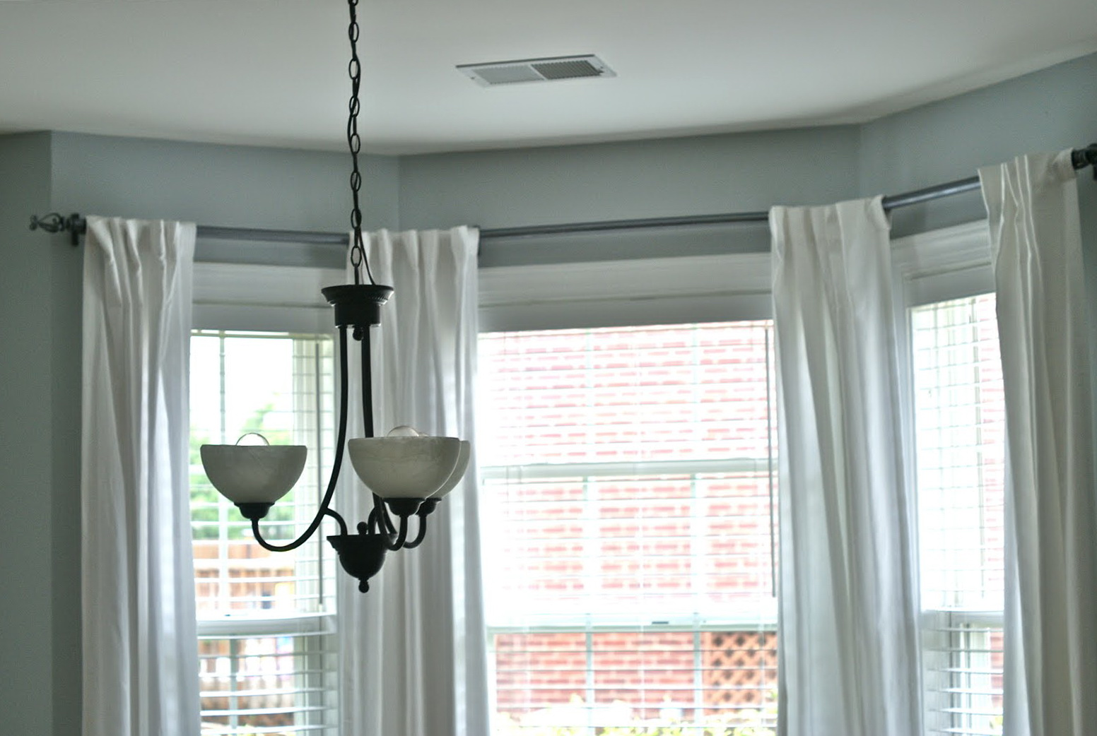 Curtain Rods For Bay Windows Target Home Design Ideas