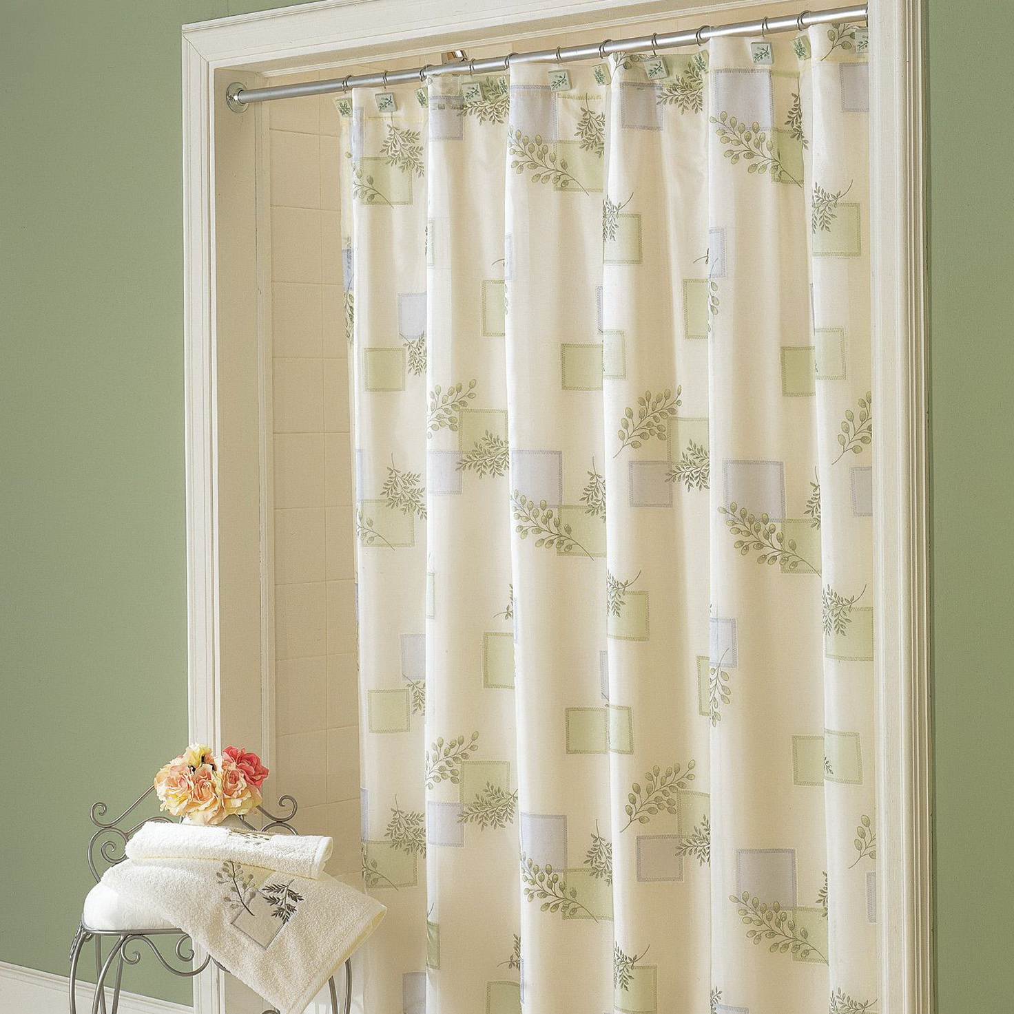 Long Shower Curtains Walmart Home Design Ideas