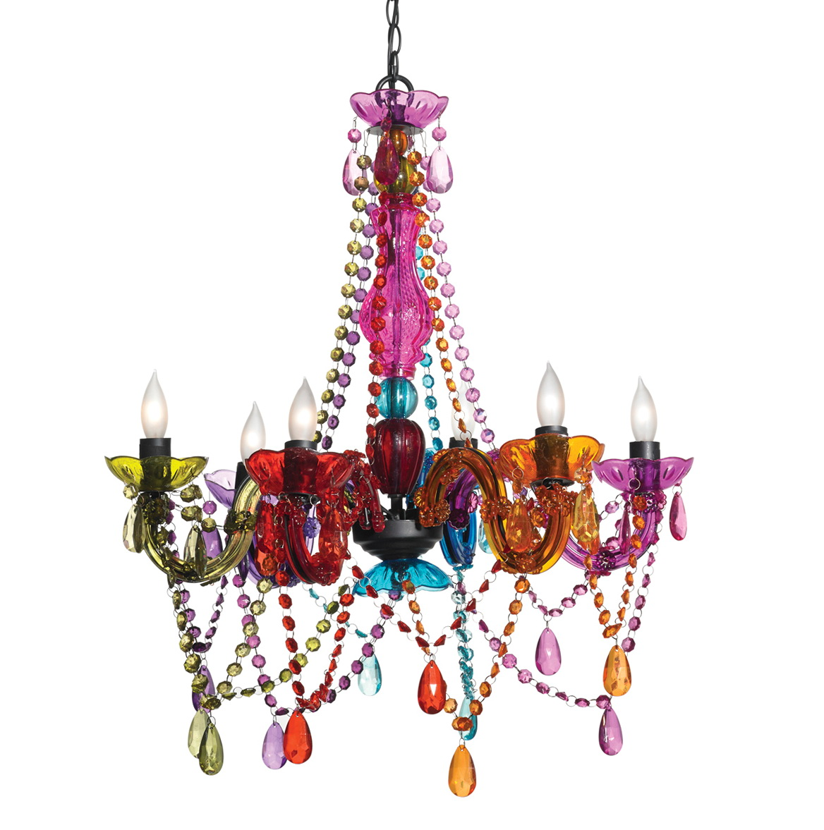 Multi Colored Glass Chandeliers Home Design Ideas