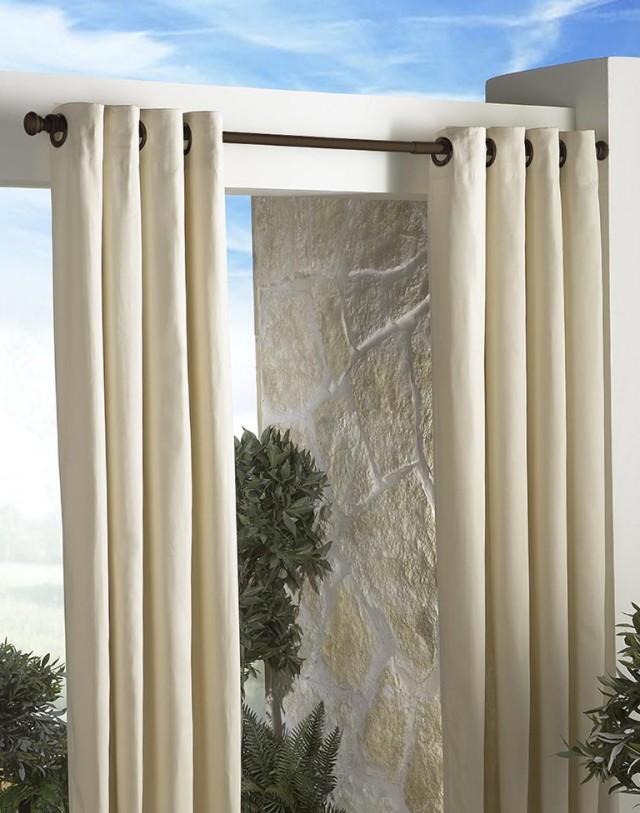 Outdoor Shower Curtain Ring Home Design Ideas