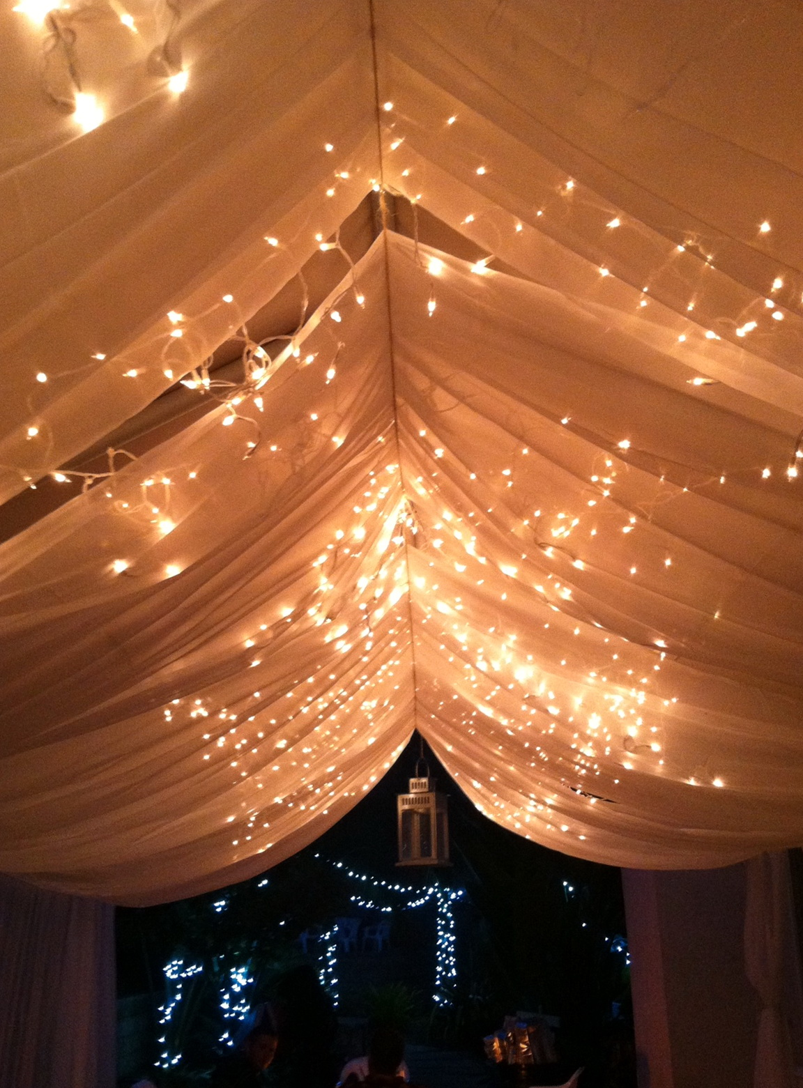 White Sheer Curtains With Lights Home Design Ideas