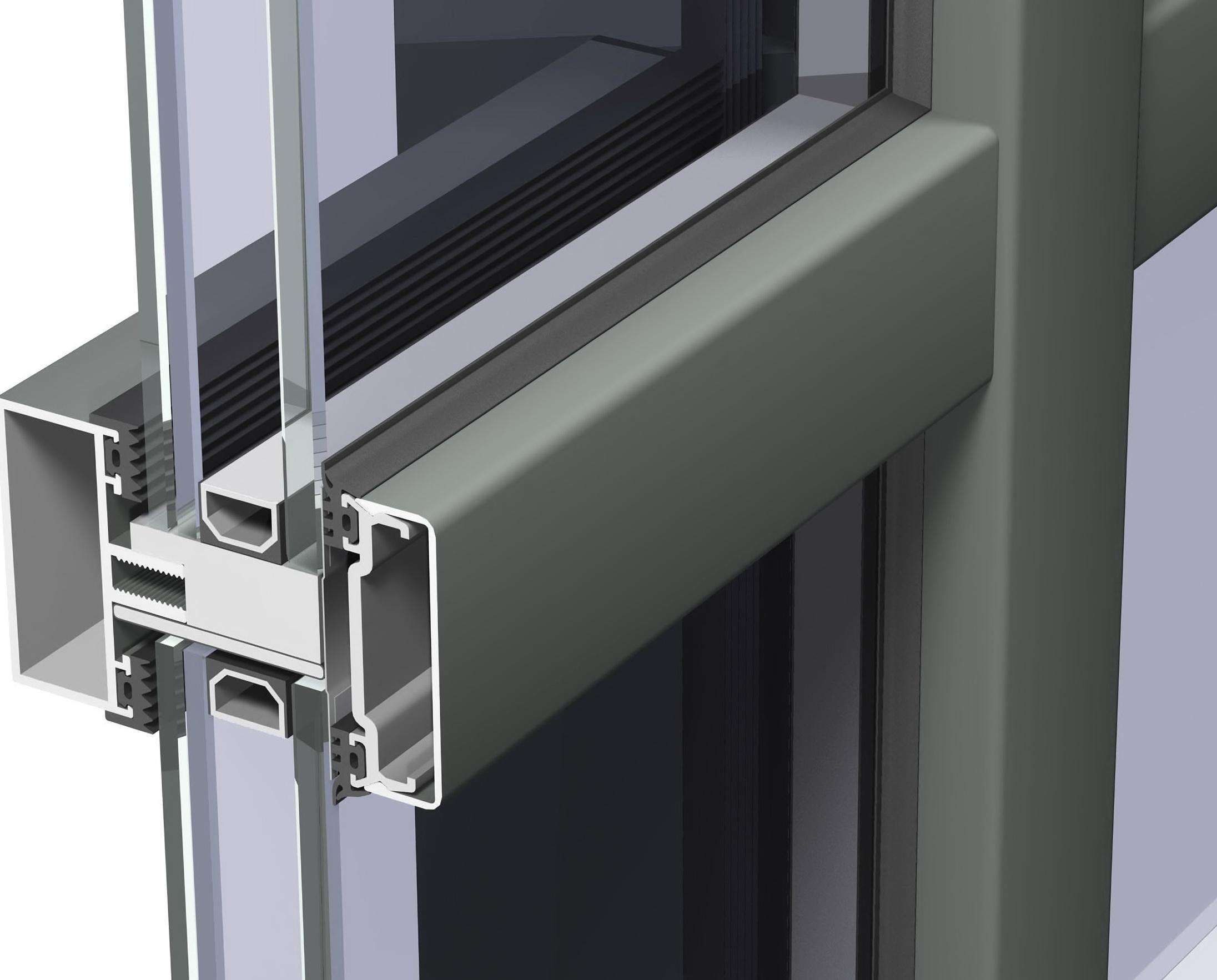Aluminum Curtain Wall Systems Home Design Ideas