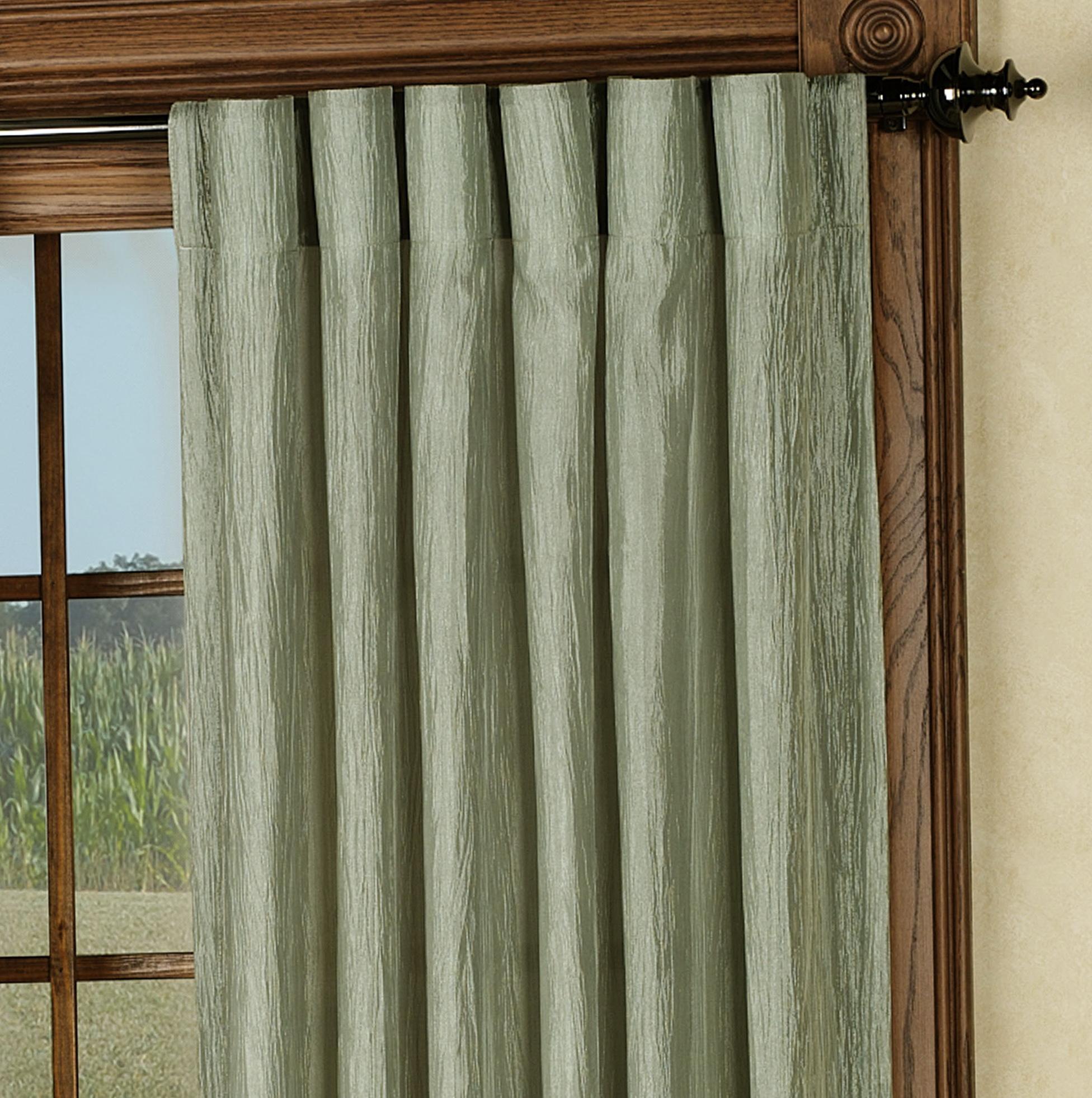 Back Tab Panel Curtains Home Design Ideas
