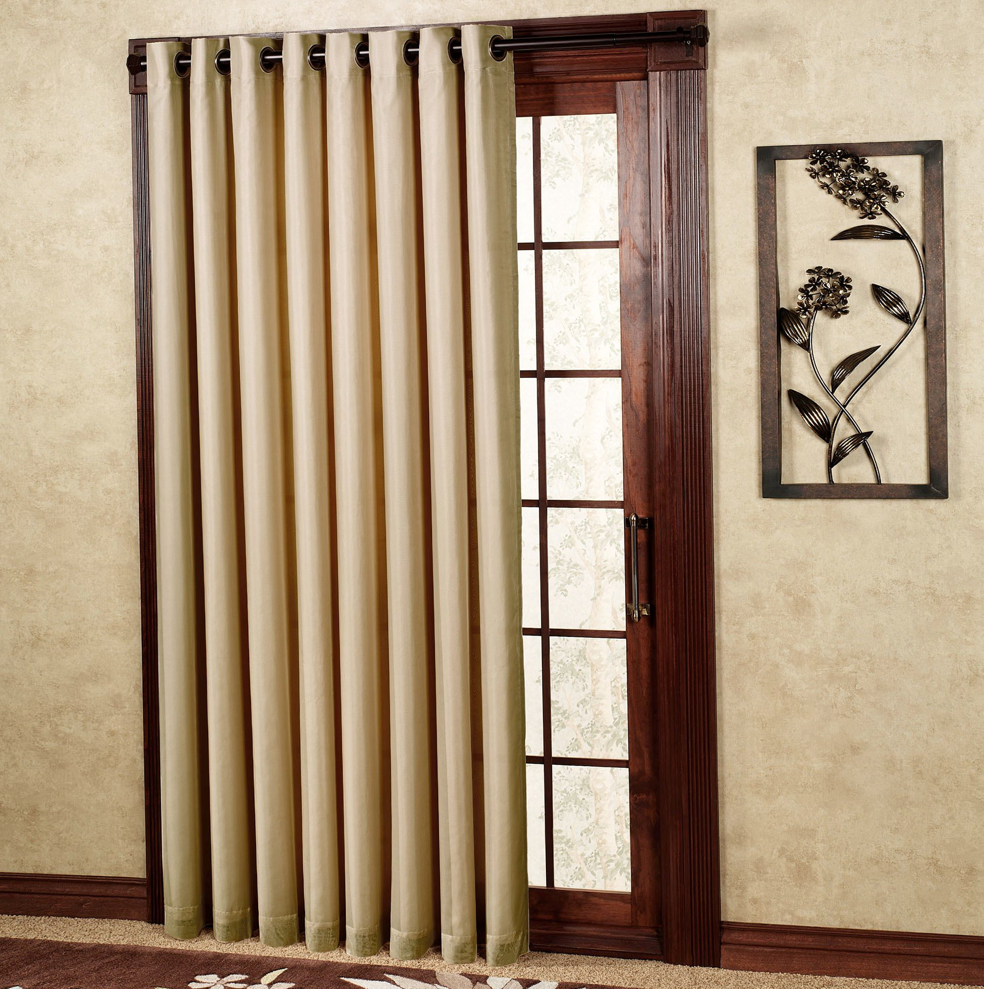 Extra Wide Curtain Panels Grommet Home Design Ideas