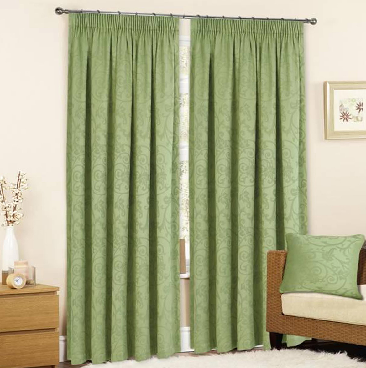 Sage Green Curtains Ready Made Home Design Ideas
