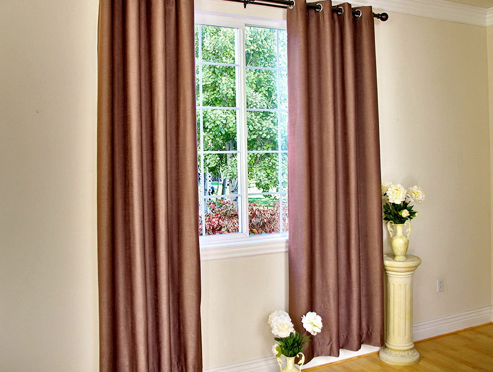 Modern Window Curtains Double Home Design Ideas