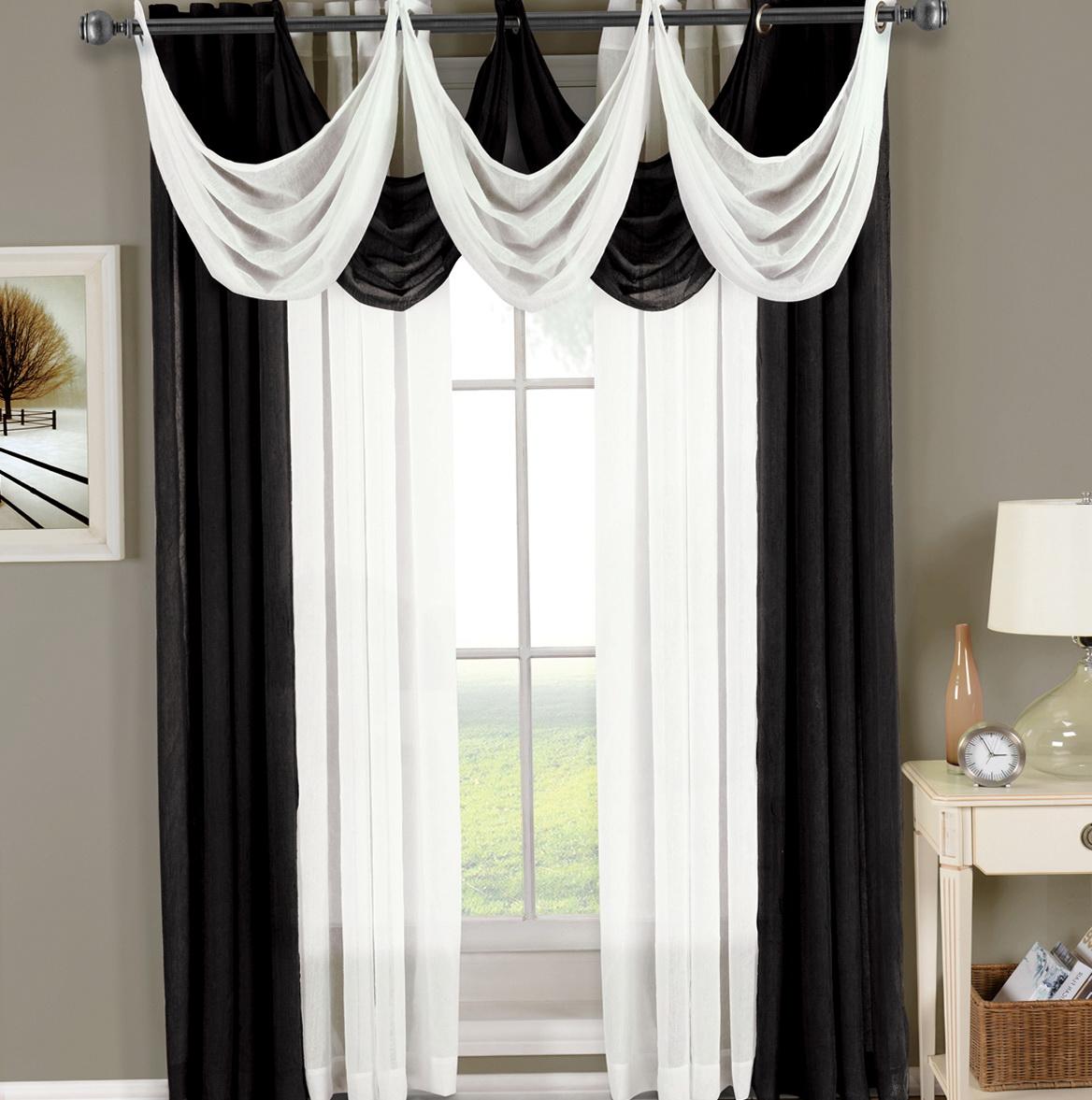 Sheer Grommet Curtains 95