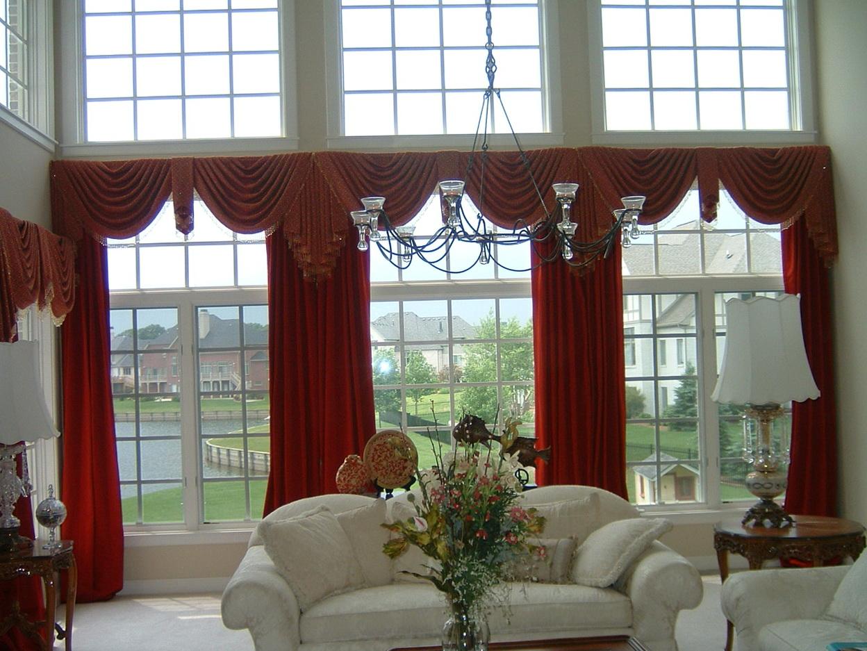 Wide Window Curtains Ideas Home Design Ideas