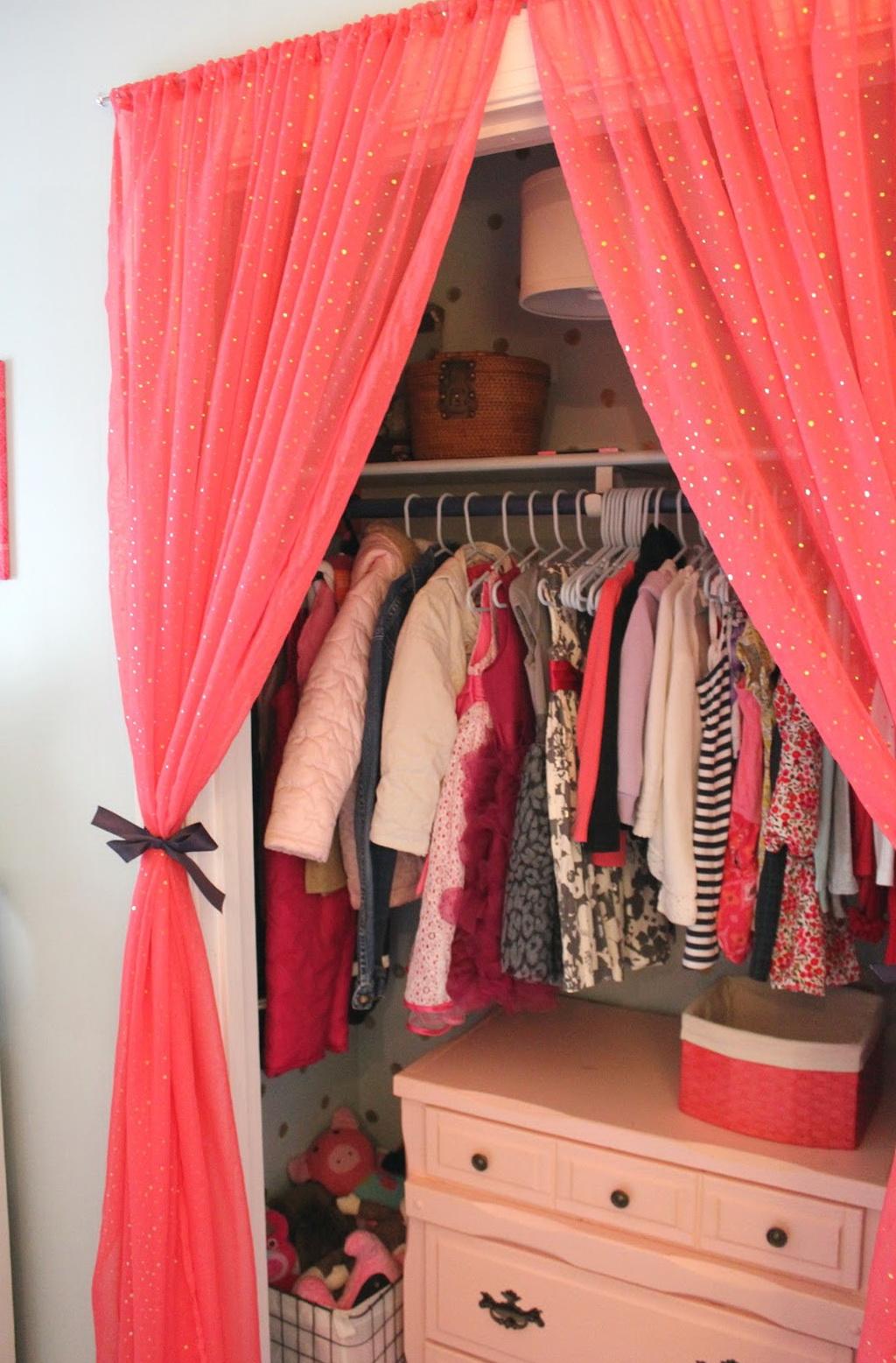 Curtain Over Closet Door Home Design Ideas