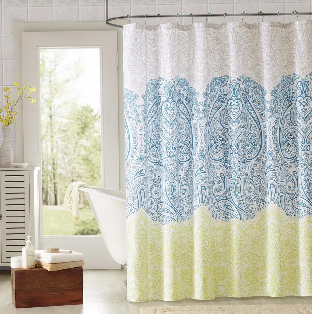 Elegant Shower Curtains Sets Home Design Ideas